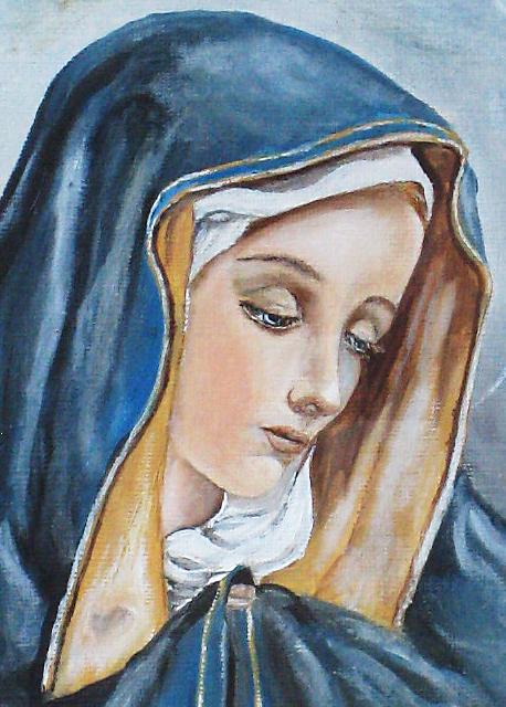 Virgen María Aprendiendo A Vivir En Cristiano