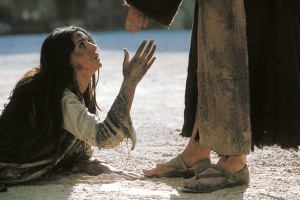 """María Magdalena el la película """"La Pasión"""" de Mel Gibson"""
